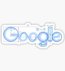 Google logo t-shirt  Sticker