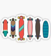 Longboard collection Sticker