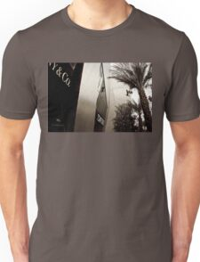 Tom Ford Menswear Shop in Vegas  2 - Black and White 2 T-Shirt