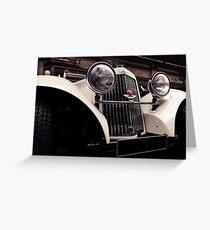 Aston Martin 1939 Greeting Card