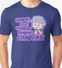 CONDOMS, Rose! T-Shirt