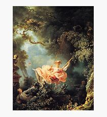 The Swing - Jean-Honoré Fragonard Photographic Print