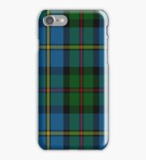 00066 Green Macleod Clan/ Family Tartan  iPhone Case/Skin