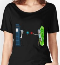RICKTIONS IN TIME AND SPACE Women's Relaxed Fit T-Shirt