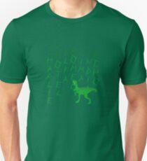 Charlie the Raptor Silhouette Unisex T-Shirt