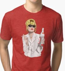 Patsy Stone AbFab Cheers Darling Tri-blend T-Shirt