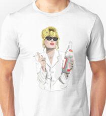 Patsy Stone AbFab Cheers Darling Unisex T-Shirt