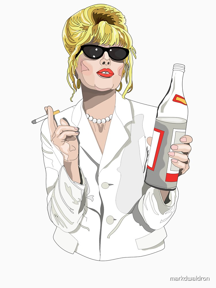 Patsy Stone AbFab Cheers Darling by markdwaldron