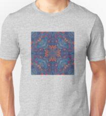 Geometric Marble  | Midnight Fire T-Shirt