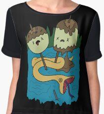 Princess Bubblegum's Rock T-shirt Chiffon Top