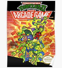 Tmnt - Arcade Game Poster