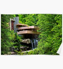 Wishes on Fallingwater Poster