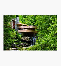Wishes on Fallingwater Photographic Print