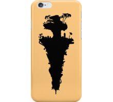 Plastic Beach Island Silhouette (Gorillaz) iPhone Case/Skin