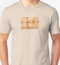 Hooded Merganser Take Off - Harle couronné - Parc National Mont Tremblant  Unisex T-Shirt