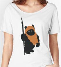 Ewok Bear, Star Wars Women's Relaxed Fit T-Shirt