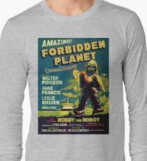 Vintage Sci-fi Movie Forbidden Planet, Robot T-Shirt