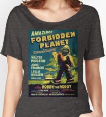 Vintage Sci-fi Movie Forbidden Planet, Robot Women's Relaxed Fit T-Shirt