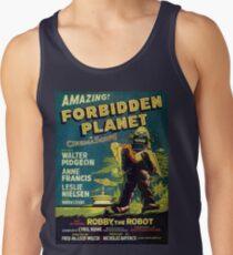 Vintage Sci-fi Movie Forbidden Planet, Robot Men's Tank Top