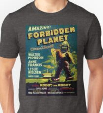 Vintage Sci-fi Movie Forbidden Planet, Robot Unisex T-Shirt