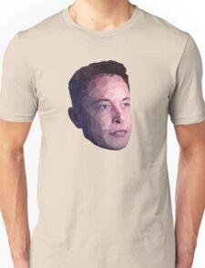 Low Poly Hero: Elon Musk – Shirts & Hoodies Unisex T-Shirt