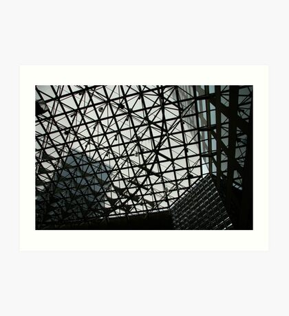 City grid Art Print