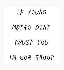 Young Metro Photographic Print