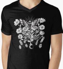 Death Moth Rising Mens V-Neck T-Shirt