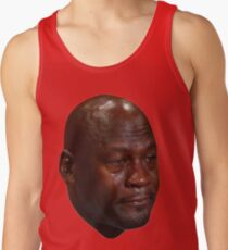Crying Jordan Tank Top