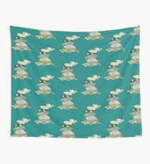 Falling pebble stack Wall Tapestry