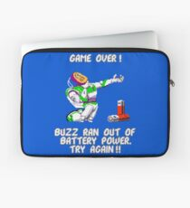Buzz Ran Out of Battery Power Laptop Sleeve