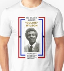 Re-elect Mayor Goldie Wilson T Shirt Unisex T-Shirt