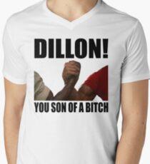 Predator Dillon You Son Of A Bitch Men's V-Neck T-Shirt