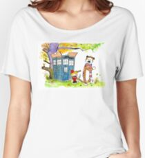 Adventure in Time & Space! Women's Relaxed Fit T-Shirt