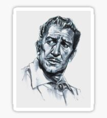 Vincent Price - The Raven Sticker