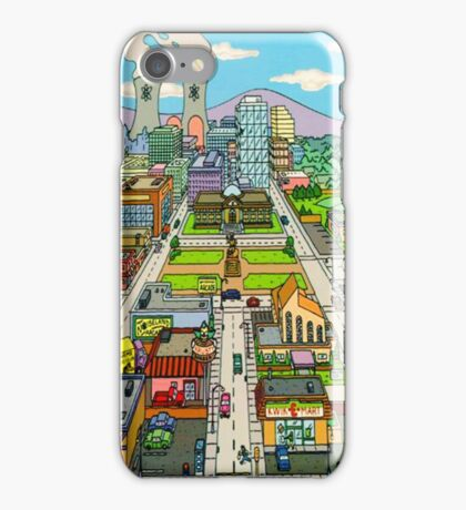Springfield city iPhone Case/Skin