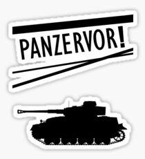 Panzervor! Sticker