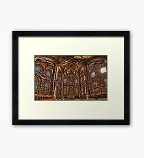 St. Lorenz Church St. Lorenz Kirche, Nuremberg Interior Framed Print