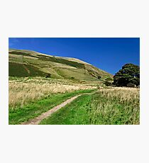 Broadlee-Bank Tor from The Pennine Way Photographic Print