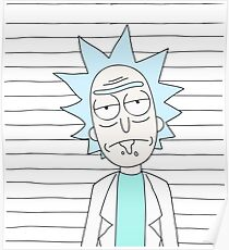 Rick - The scientist Poster