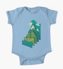 How to Build a Landscape One Piece - Short Sleeve