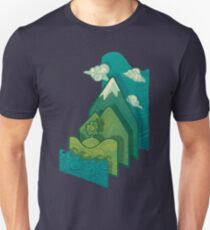 How to Build a Landscape Unisex T-Shirt