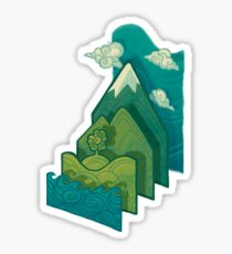 How to Build a Landscape Sticker