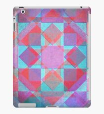 Cool vintage canvas pattern iPad Case/Skin