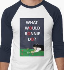 Rocket Ronnie O'sullivan Men's Baseball ¾ T-Shirt