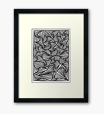 optical Framed Print