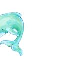 Blue Green Whale by losthero