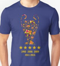 FC Barcelona - Champion League Winners T-Shirt
