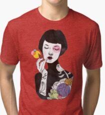Put on Some Colour! (version 2) Tri-blend T-Shirt