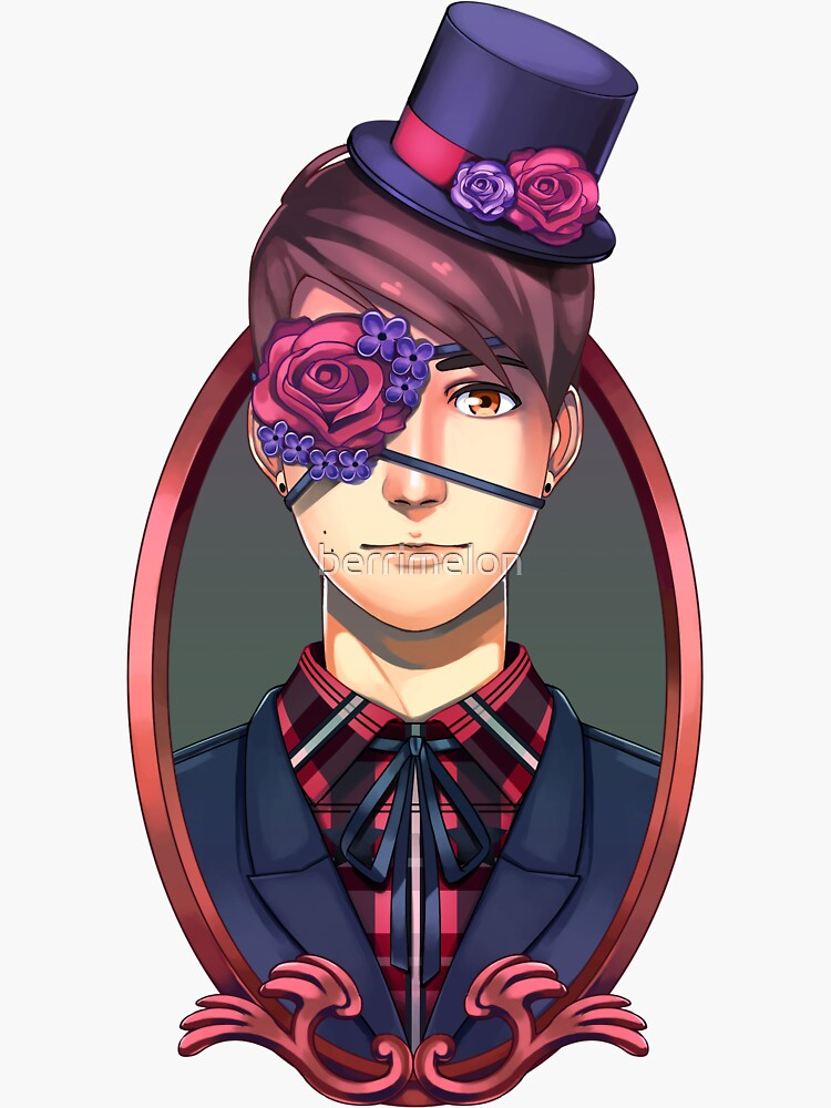 Flowers and Hat! Dan by berrimelon